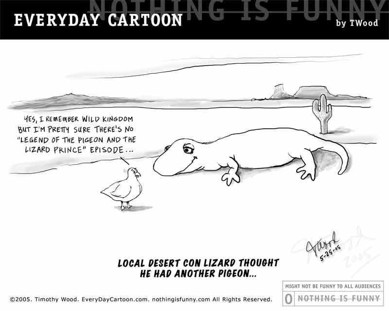 Local Desert Con Lizard