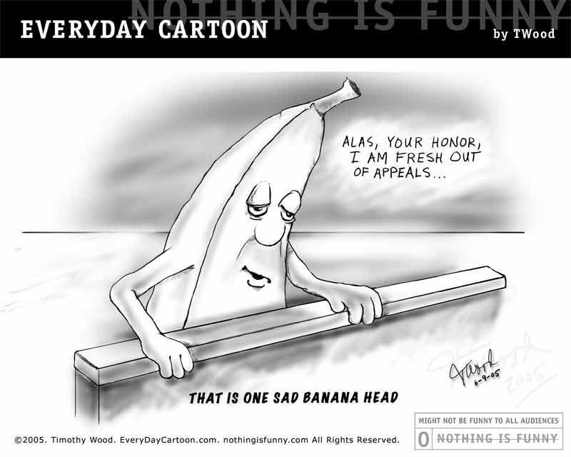 One Sad Banana Head